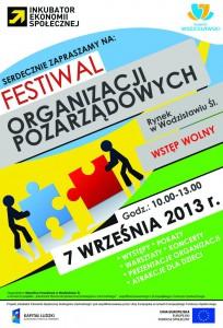 Festiwal organizacji pozarządowych wWodzisławiu Śląskim